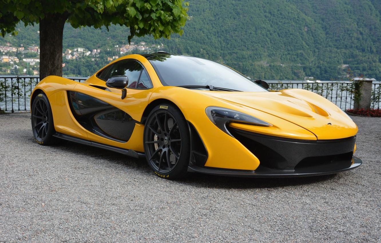 Photo wallpaper McLaren