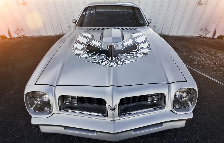 Photo wallpaper Pontiac, Firebird, Trans Am, 1973