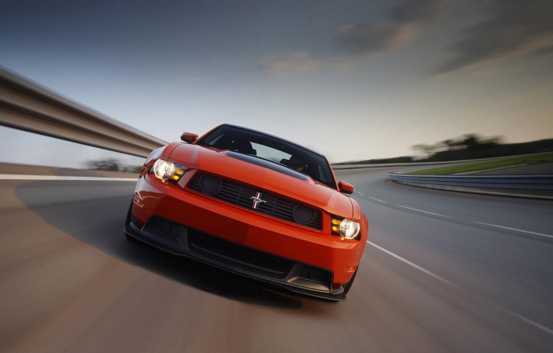 Photo wallpaper Mustang, Ford, 302, Boss