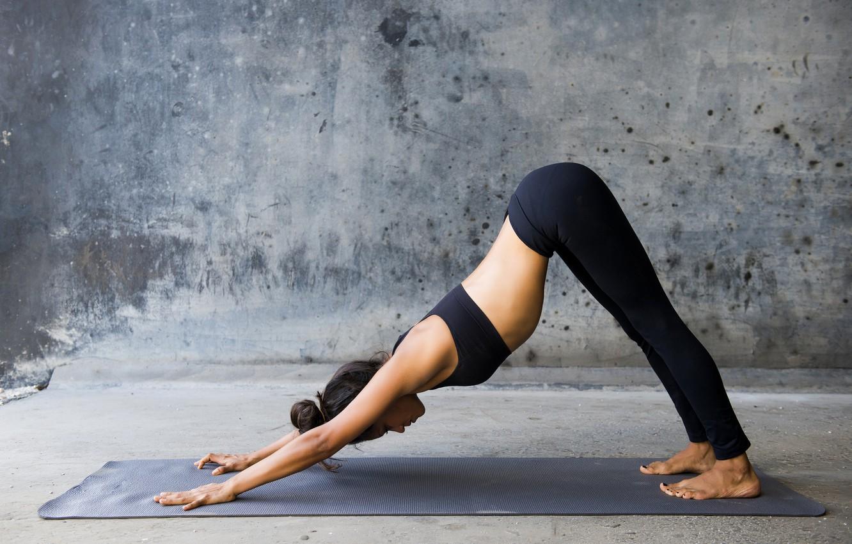 Photo wallpaper pose, yoga, elongation
