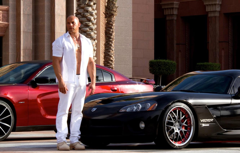 Wallpaper Vin Diesel Vin Diesel Dominic Toretto Fast Amp