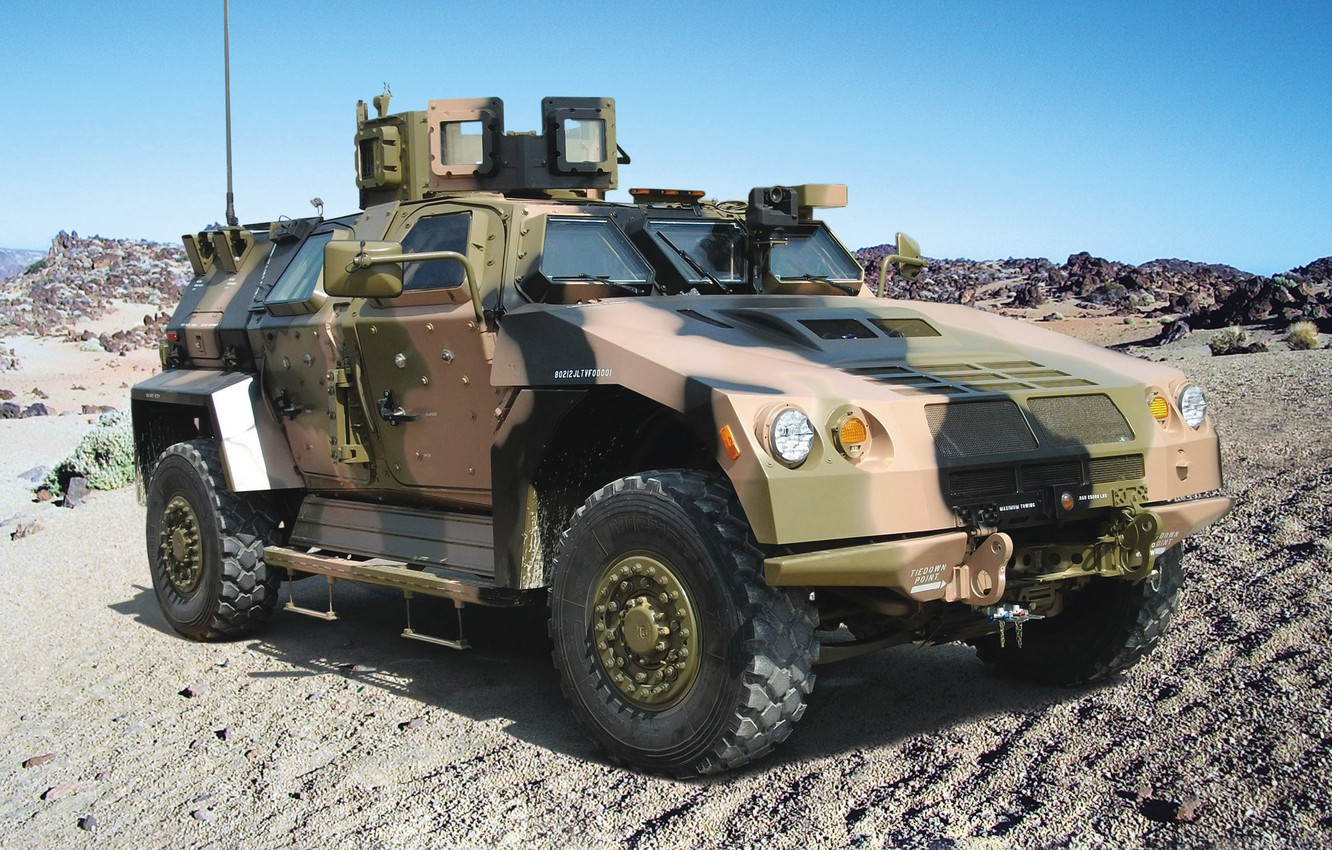 Photo wallpaper machine, easy, armored, BAE Systems, Valanx