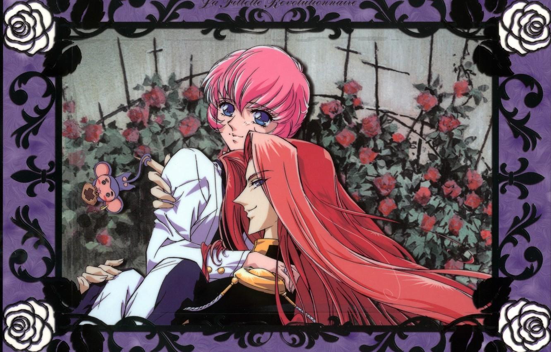 Photo wallpaper pair, anime, art, revolutionary girl utena