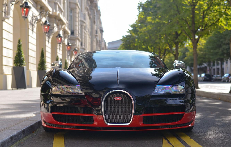 Photo wallpaper Bugatti, Grand, Veyron, Sport, Vitesse