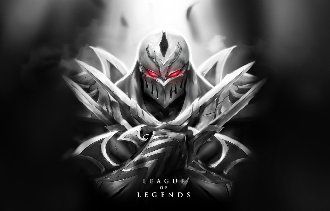 Wallpaper Zed Lol Ninja Lol Zed League Of Legends Killer