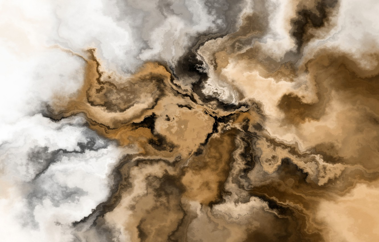 Photo wallpaper clouds, coffee, painting, sky, coffee