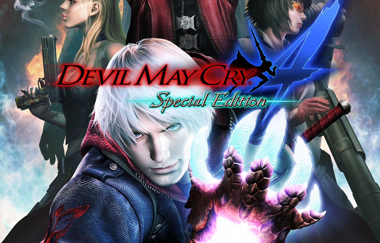 Wallpaper Hand Guy Art Nero Devil May Cry 4 Dmc Lady