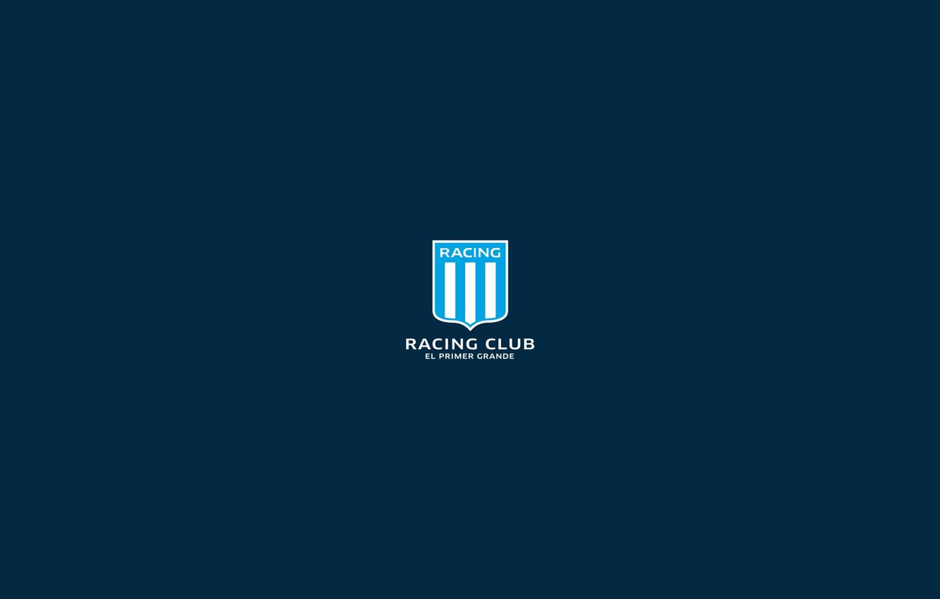 Wallpaper Logo Shield Argentine Soccer Racing Club Images For