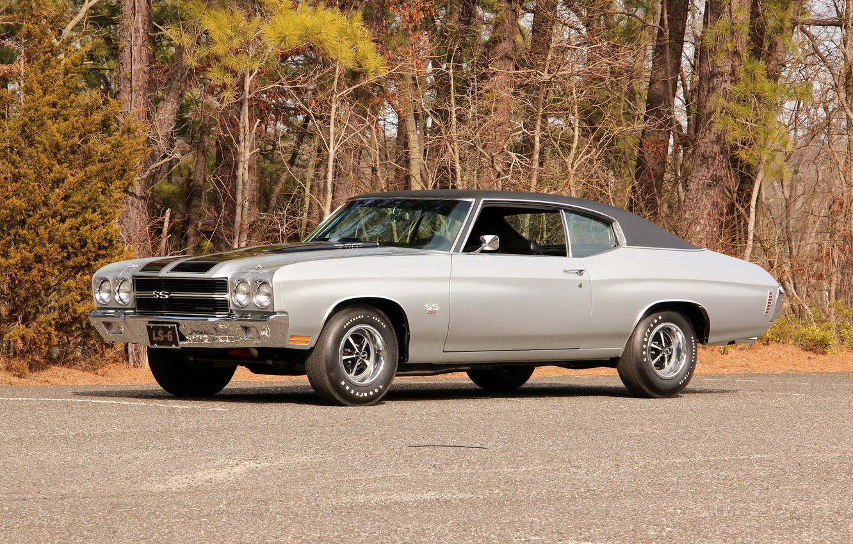 Photo wallpaper coupe, Chevrolet, Chevrolet, Coupe, 1970, Chevelle, Hardtop, LS6, Chevelle, SS 454