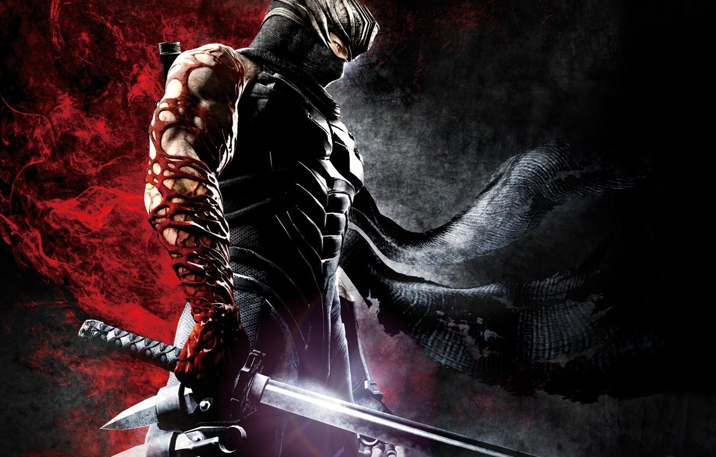Wallpaper Blood Sword Infection Pain Ninja Ninja Gaiden