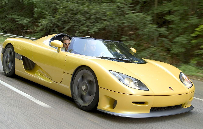 Photo wallpaper supercar, cabrio, koenigsegg
