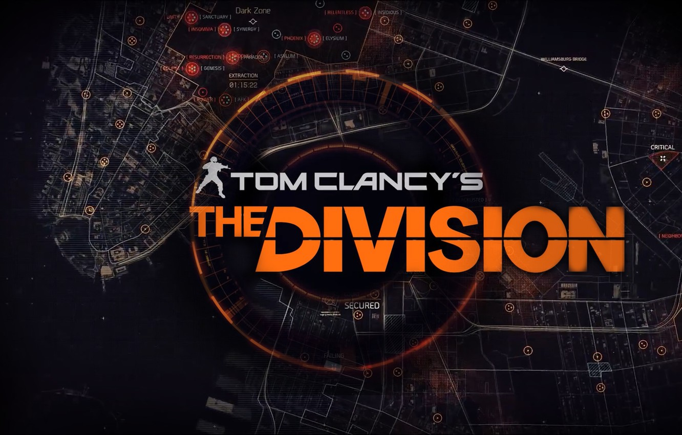 Photo wallpaper the game, Ubisoft, yubisoft, Tom Clancy's, The Division