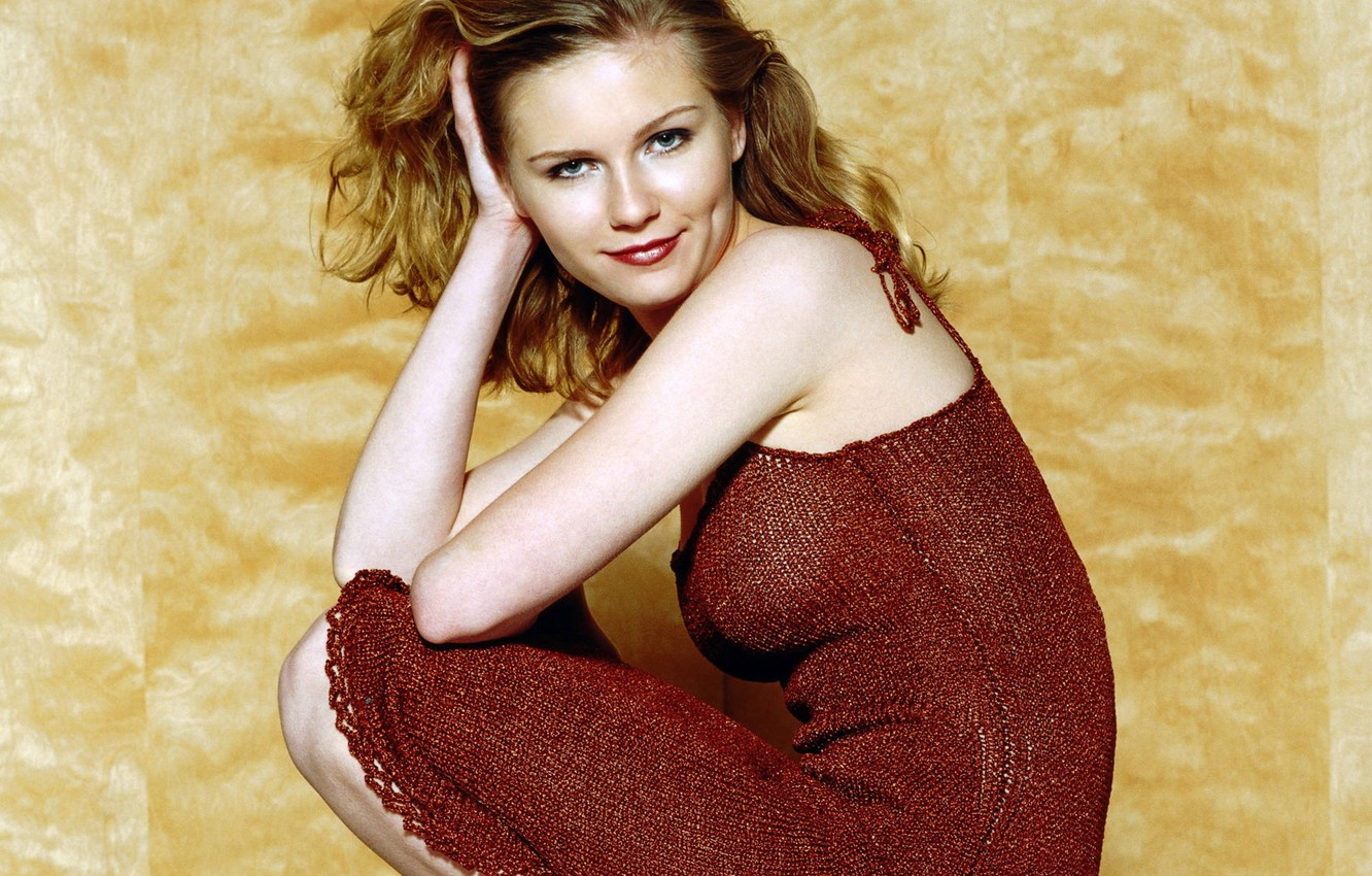 Photo Wallpaper Kirsten Dunst Hot Sexy Wallpaper Widescreen Actress Celebrity