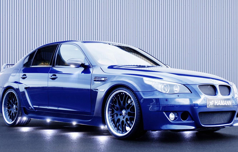 Photo wallpaper blue, drives, hamann, Bmw