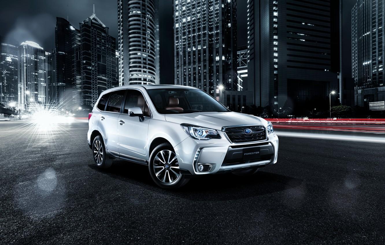 Photo wallpaper Subaru, Subaru, Forester, crossover, Forester