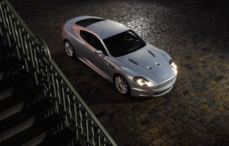 Photo wallpaper white, Wallpaper, Auto, Aston martin