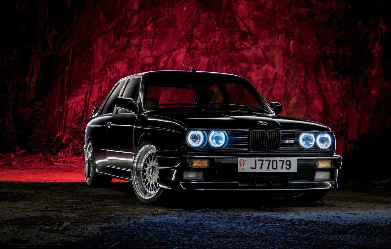 Photo wallpaper night, BMW, bmw m3, rechange