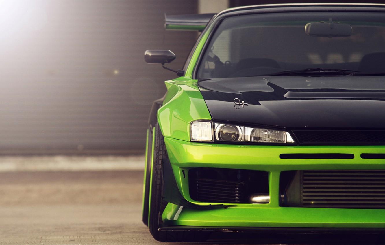 Photo wallpaper nissan, Nissan, silvia, s14, Silvia