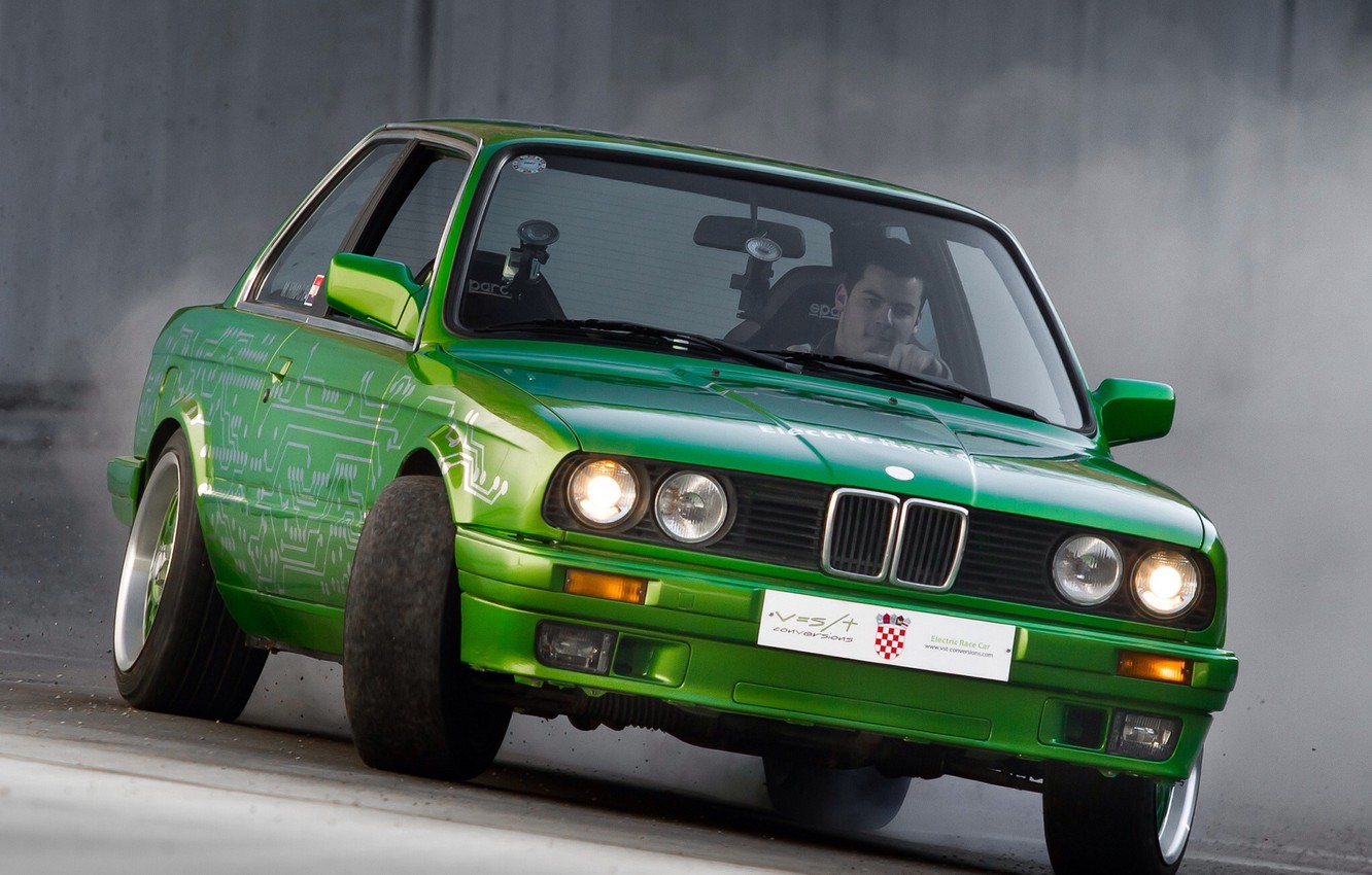 Photo wallpaper drift, tuning, Bmw, e30, rimac