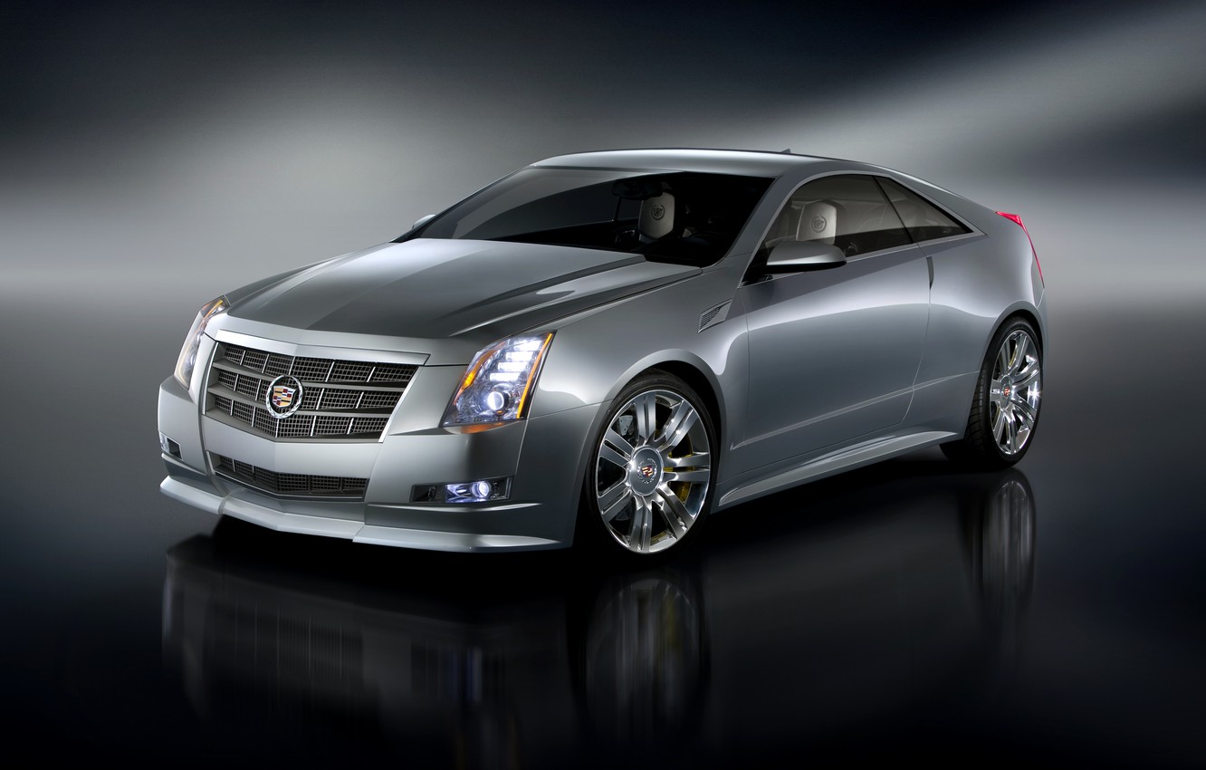 Photo wallpaper Concept, Cadillac, coupe, CTS, Coupe, Cadillac