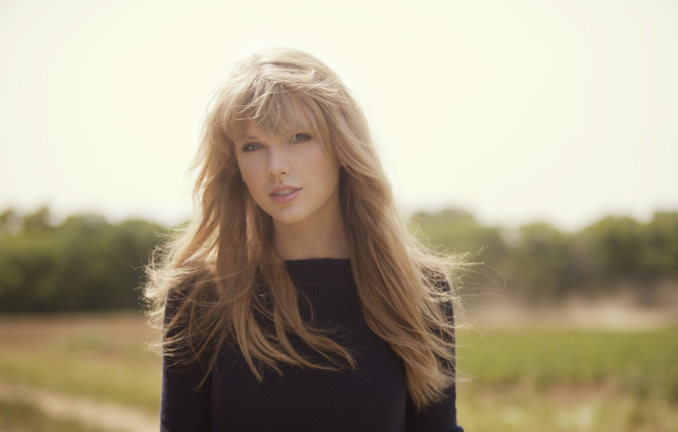 Wallpaper Look The Sun Face Background Hair Blonde Singer Taylor Swift Images For Desktop Section Devushki Download