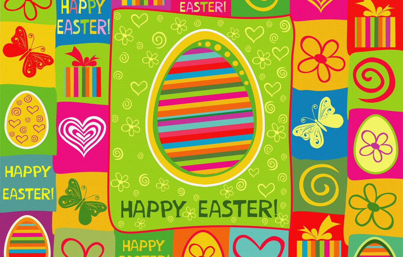 Photo wallpaper color, holiday, bright, Easter, texture, Easter