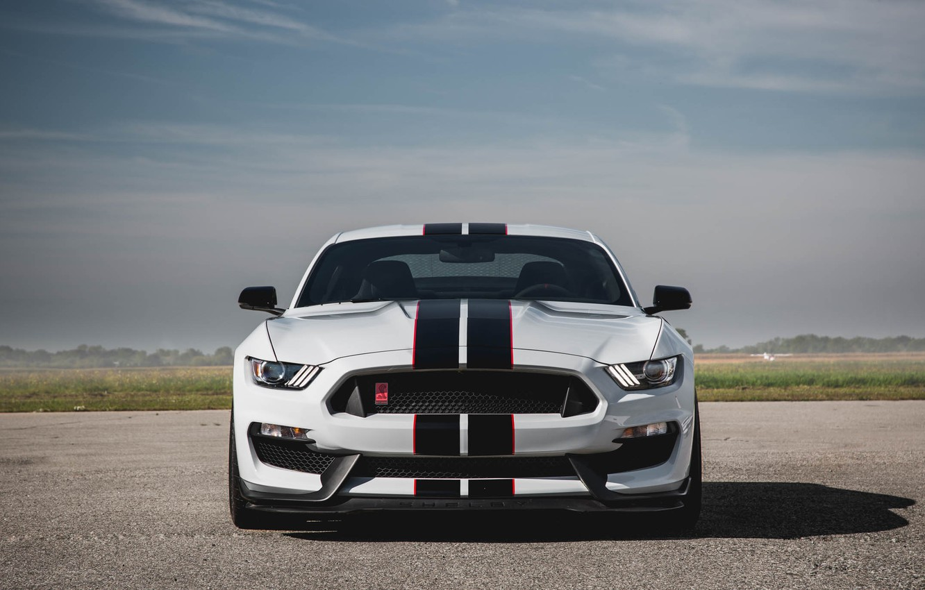 Photo wallpaper Mustang, Ford, Shelby, GT350R, 2016