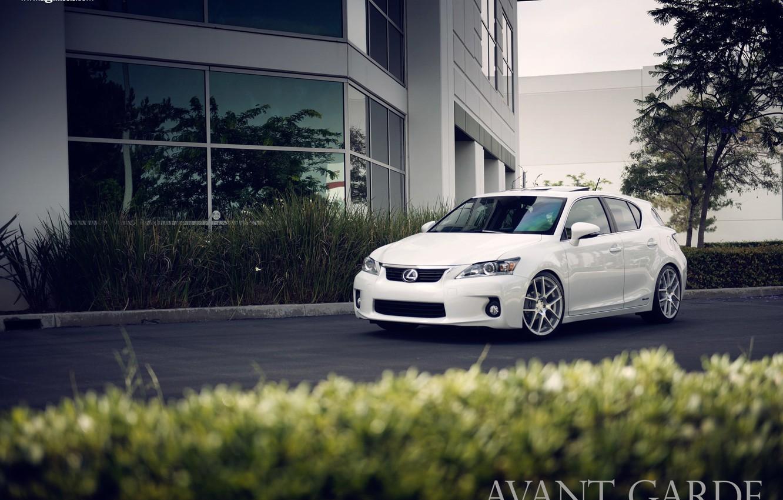 Photo wallpaper white, white, Lexus, Lexus CT 200h