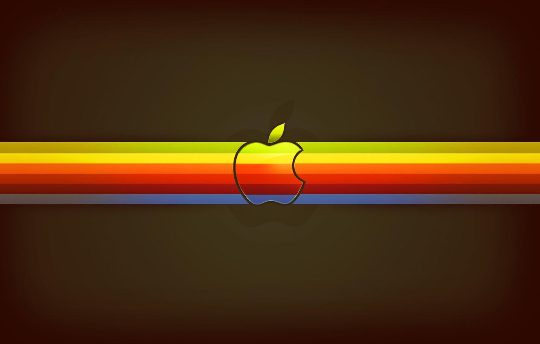 Photo wallpaper apple, Apple, EPL