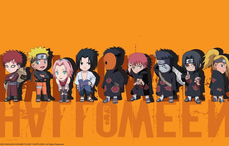 Photo wallpaper Sakura, Sasuke, Naruto, Itachi, Kisame, Gaara, Deidara, Toby, Sasori