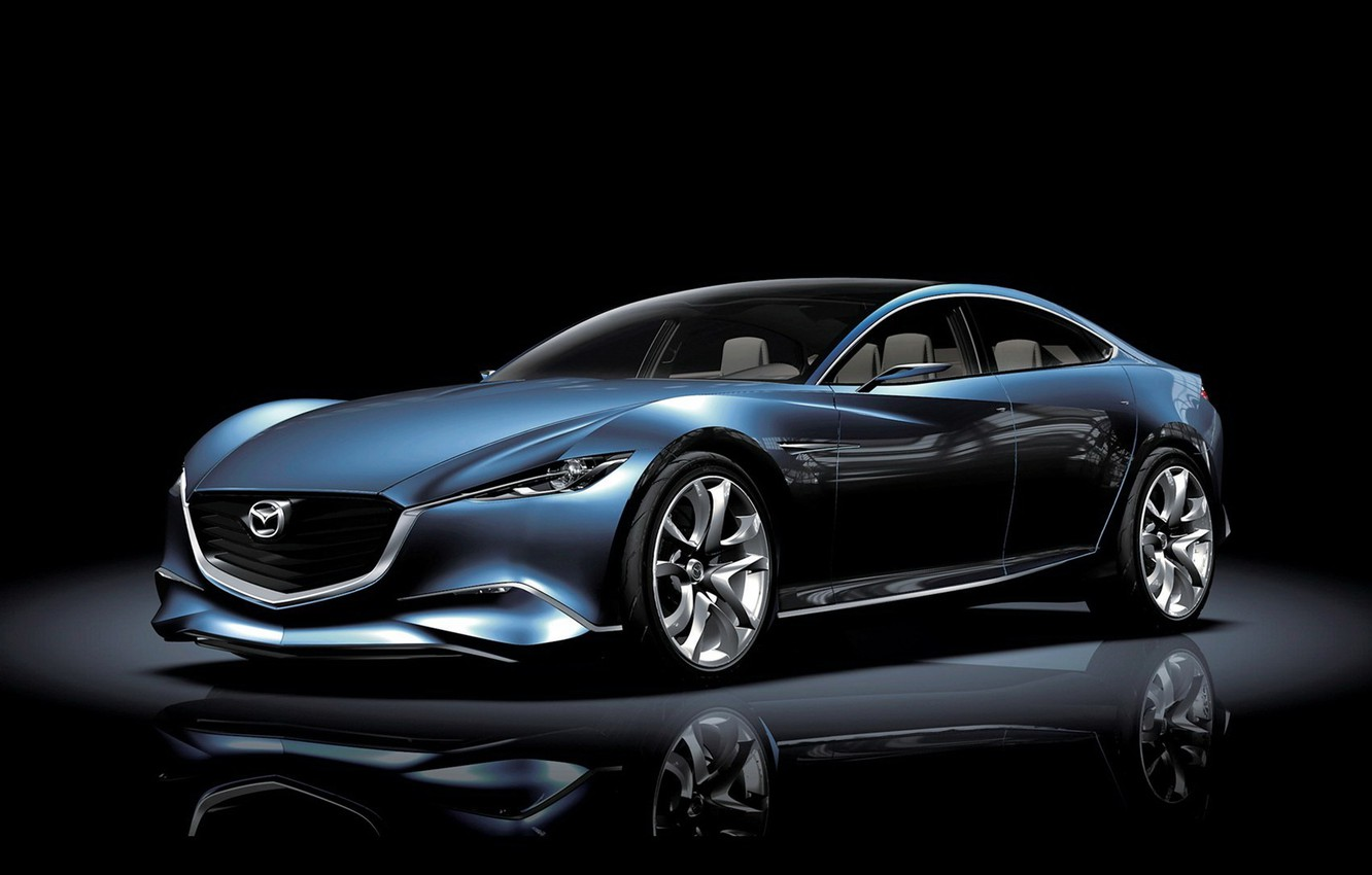 Photo wallpaper Concept, Machine, Mazda