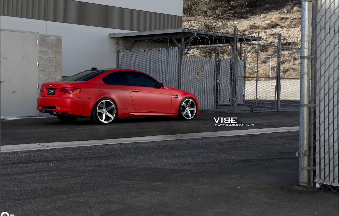 Photo wallpaper machine, auto, mesh, BMW, auto, Grey, Matte, Face, feed, Concave, Machined, CW-5, Whells