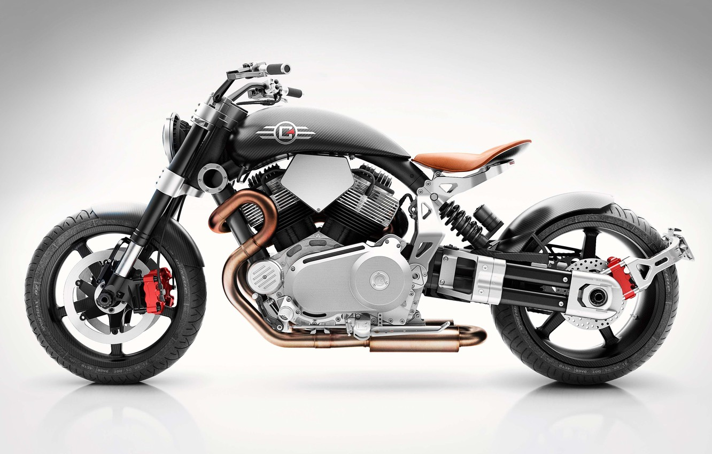 Photo wallpaper moto, bike, design, power, Confederate, Hellcat, Speedster, v-twin, X132