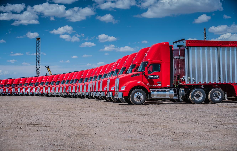 Photo wallpaper trucks, Kenworth, Kenworth T880