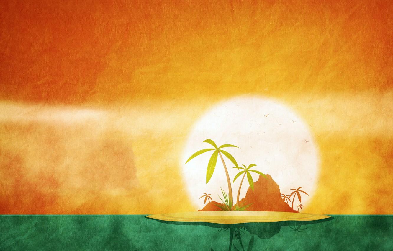 Photo wallpaper summer, the sun, Palma, island, calendar, June