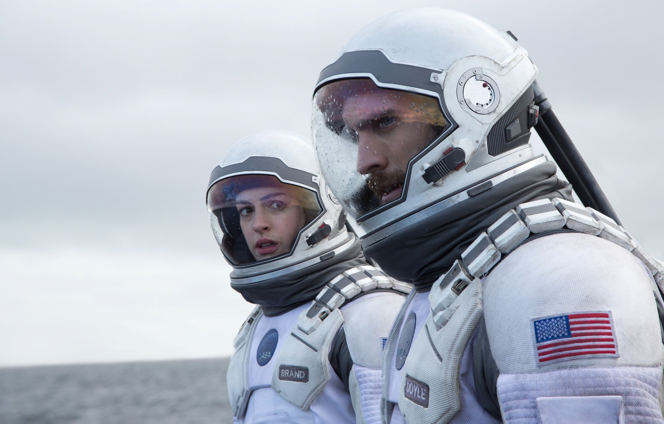 Wallpaper Space The Suit The Astronauts Anne Hathaway