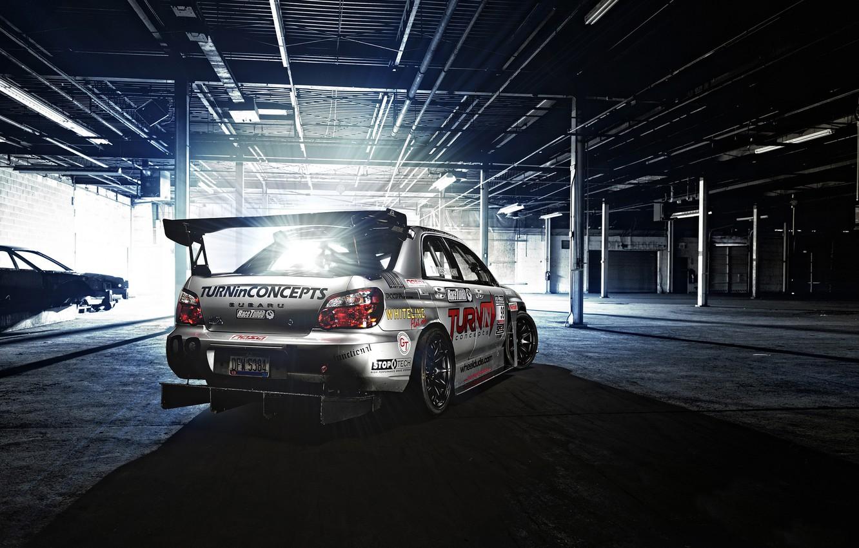 Photo wallpaper light, Subaru, Impreza, hangar, WRX, Blik, Subaru, tuning sport, TURNin Concept, TA Monster