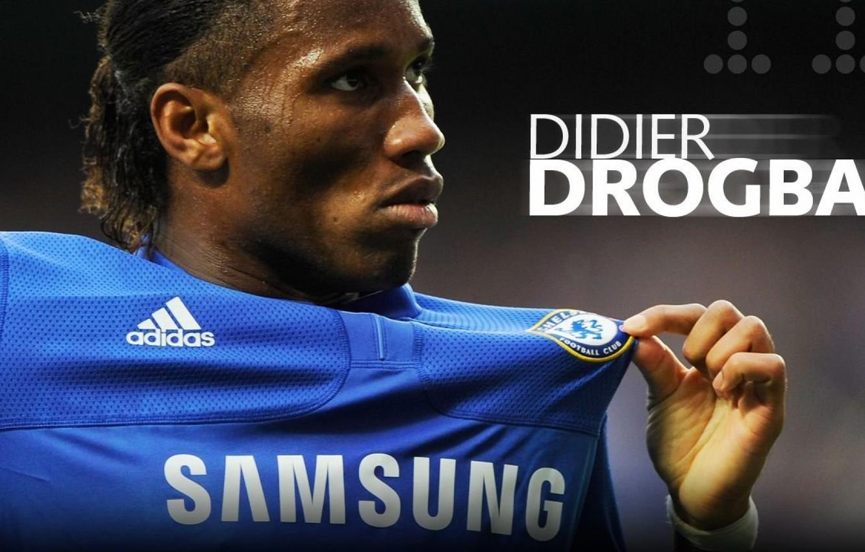 Photo wallpaper Chelsea, Chelsea, Drogba, Didier Drogba