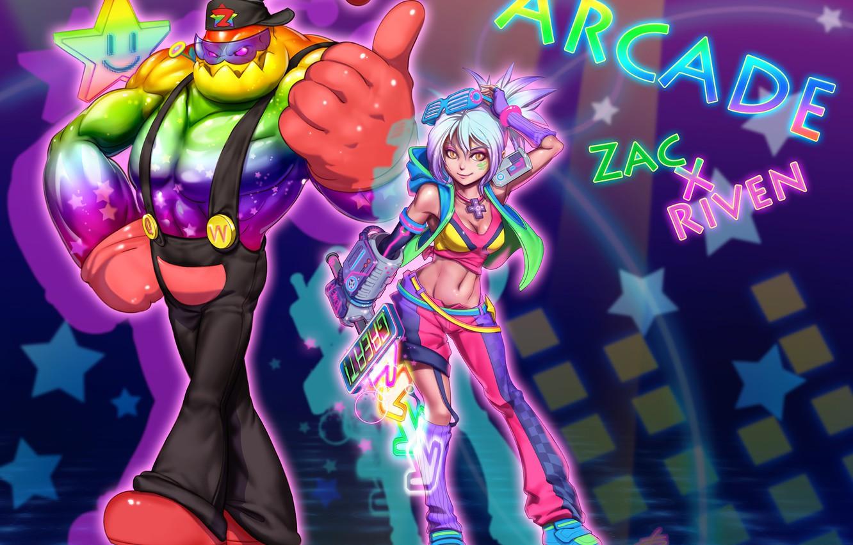 Wallpaper League Of Legends Riven Zach Exile Secret Weapon