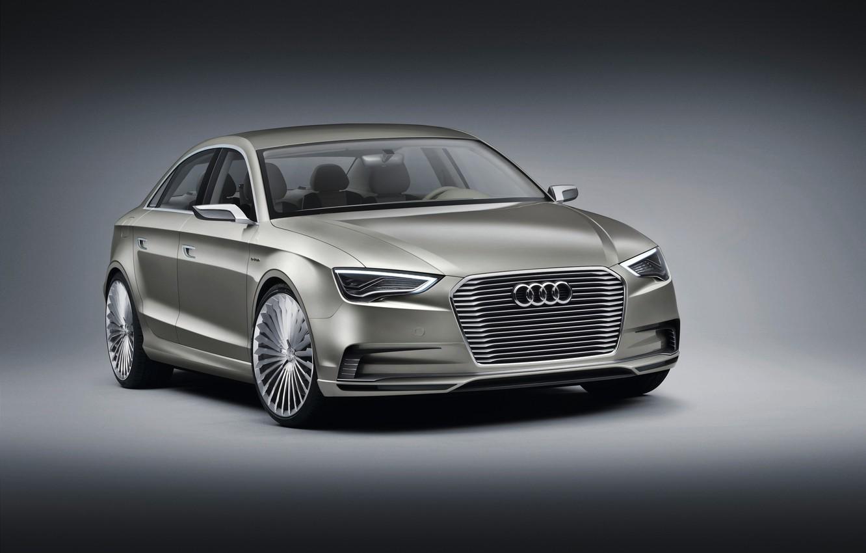 Photo wallpaper Concept, Audi, Audi, sedan, Sedan, e-Tron, electric car