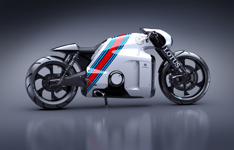 Photo wallpaper Concept, The concept, Lotus, Motorcycle, Lotus, Design, Superbike, C-01