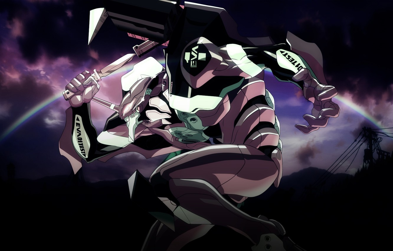 Photo wallpaper Anime, Neon Genesis Evangelion, Eva-01