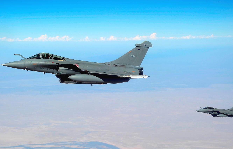 Wallpaper France, multi-role fighter, Dassault Rafale, the