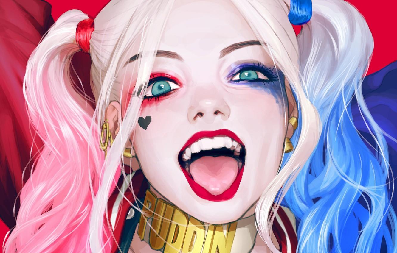 Photo wallpaper Girl, Art, Harley Quinn, DC Comics, Harley Quinn, Suicide Squad