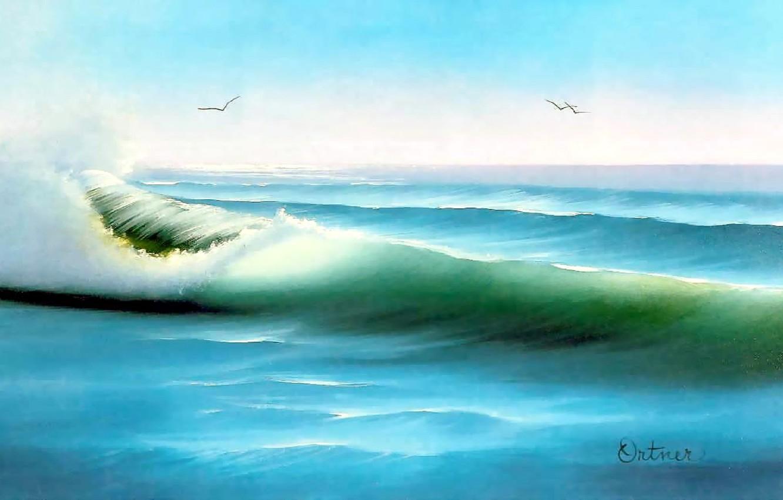 Wallpaper Sea The Sky Water Landscape The Ocean Wave Color