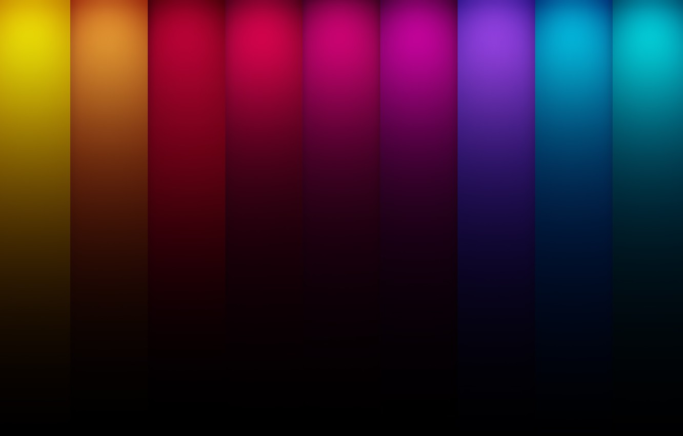 Photo wallpaper color, line, blue, red, abstraction, strip, yellow, colors, green lines