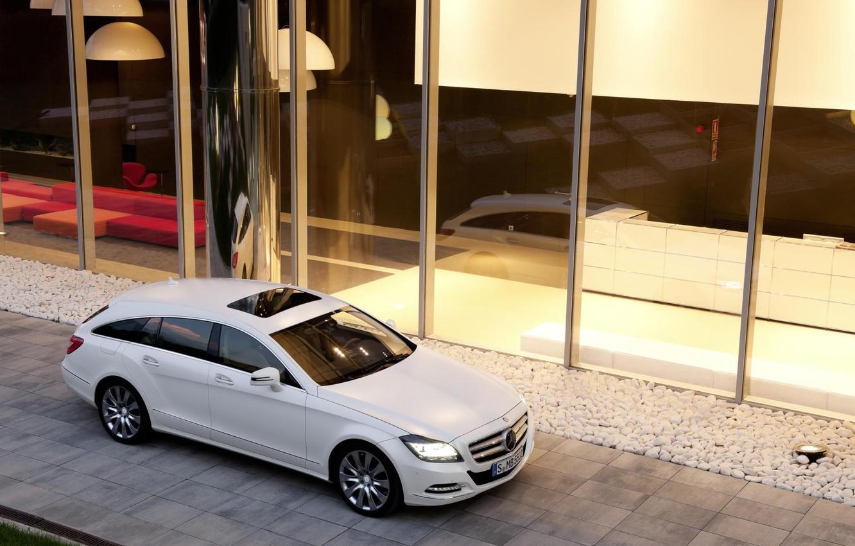Photo wallpaper Mercedes, 2013, Benz-CLS