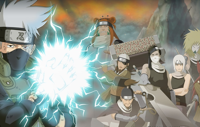 Photo wallpaper sword, game, anime, katana, sharingan, asian, manga, japanese, Hatake Kakashi, oriental, asiatic, live action, hitaiate, …