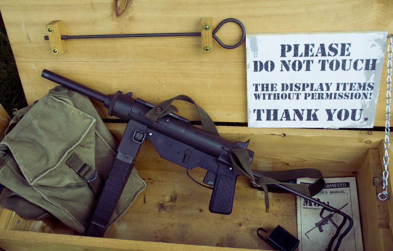 Photo wallpaper weapons, the gun