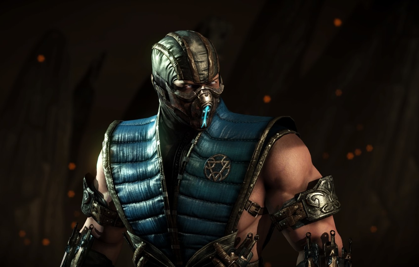 Wallpaper Sub-Zero, Sub Zero, Mortal Kombat X Images For